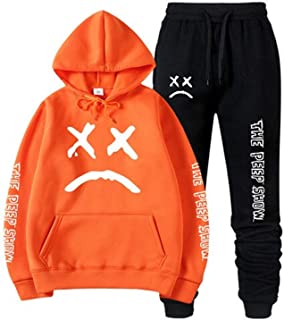 Lil Peep Hell Boy Falling Down Hoodies Pants Sweatshirt Black White 3D Print Colorful Cotton Unisex R.I.P Cry Baby B1