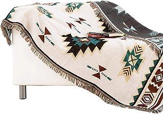 noyydh مكيف الهواء منشفة منقوشة بطانية، أريكة محبوك السرير بطانية، ديكور نوم بطانية 150x200 سنتيمتر