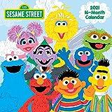 Sesame Street 2021 Wall Calendar, 12' x 12', 16 Months