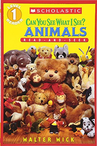 Can You See What I See? Animals: A Read-and-seek Reader (Read-And-Seek Level 1)の詳細を見る