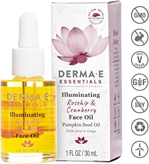 DERMA E Illuminating Rosehip & Cranberry Face Oil, 1 oz