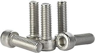 "Cap Screws M4 x 6mm/"" Long Socket Head Stainless Steel Silver Lot of 25 #6113"