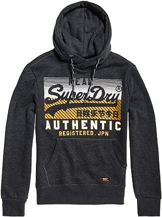Superdry Men's Vintage Authentic Hood Sports Hoodie