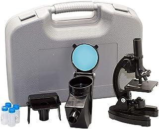 Microscópio com ampliação 300x, 600x e 1200x, Vivitar, VIVMIC4