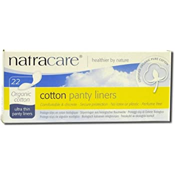 Natracare Organic Cotton Panty Liners Ultra Thin - 22 Pads