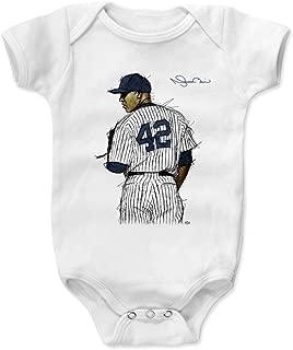 500 LEVEL Mariano Rivera New York Baseball Baby Clothes & Onesie (3-24 Months) - Mariano Rivera Sig