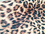 LushFabric Leopard Animal Print Stoff Panther Fell