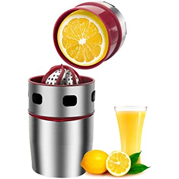 CENTRIFUGEUSES PRESSE Argent Acier Inoxydable Fruit Citron