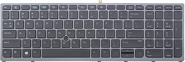 Original New for HP Zbook 15 G3 17 G3 848311-001 US Backlit Keyboard & Pointer