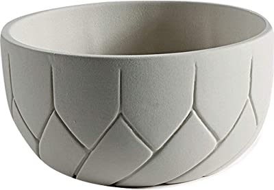 Atipico Frattali Small Ceramic Bowl |Cream Color 5550