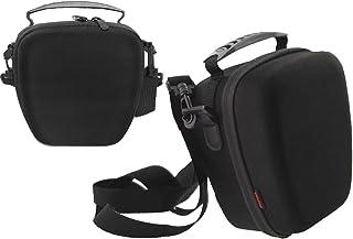 Navitech svart robust EVA skyddande bärväska med SD-kortplatser som passar Fujifilm X-Pro2 kompakt systemkamera