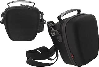 Navitech Black Rugged EVA Protective Carry Case with Card slots suitable for the Kodak Pixpro AZ652