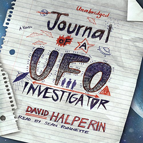Journal of a UFO Investigator audiobook cover art