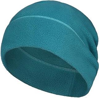 Arcweg Skull Cap Hat Winter Thermal Stretchable Cycling Cap Polar Fleece Breathable Lightweight Beanies Unisex for Men Wom...
