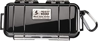 Waterproof Case | Pelican 1030 Micro Case - for GoPro, Camera, and More (Black)