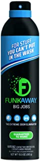 FunkAway Big Jobs Spray, 13.5 oz | The Extreme Odor Eliminator | Aerosol | Use on Shoes, Clothes and Gear | For Stuff You ...