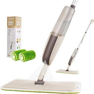 Spray Mop for Floor Cleaning, CXhome Hardwood Floor Mop Microfiber Mop for Tile Floors Wet Jet Mop with Sprayer and 2 Mop Pads, 1 Refillable Bottle