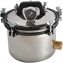 CARESHINE 8.5 Quater/8L Portable Steam Autoclave Sterilizer Stainless Steel Shell US Shipping 2-5 Days