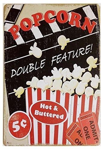 vintage popcorn sign - 8