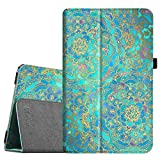 Fintie Folio Case for Samsung Galaxy Tab E 9.6 - Slim Fit Premium Vegan Leather Cover for Tab E/Tab E Nook 9.6-Inch Tablet (SM-T560/T561/T565 & SM-T567V Verizon 4G LTE Version), Shades of Blue