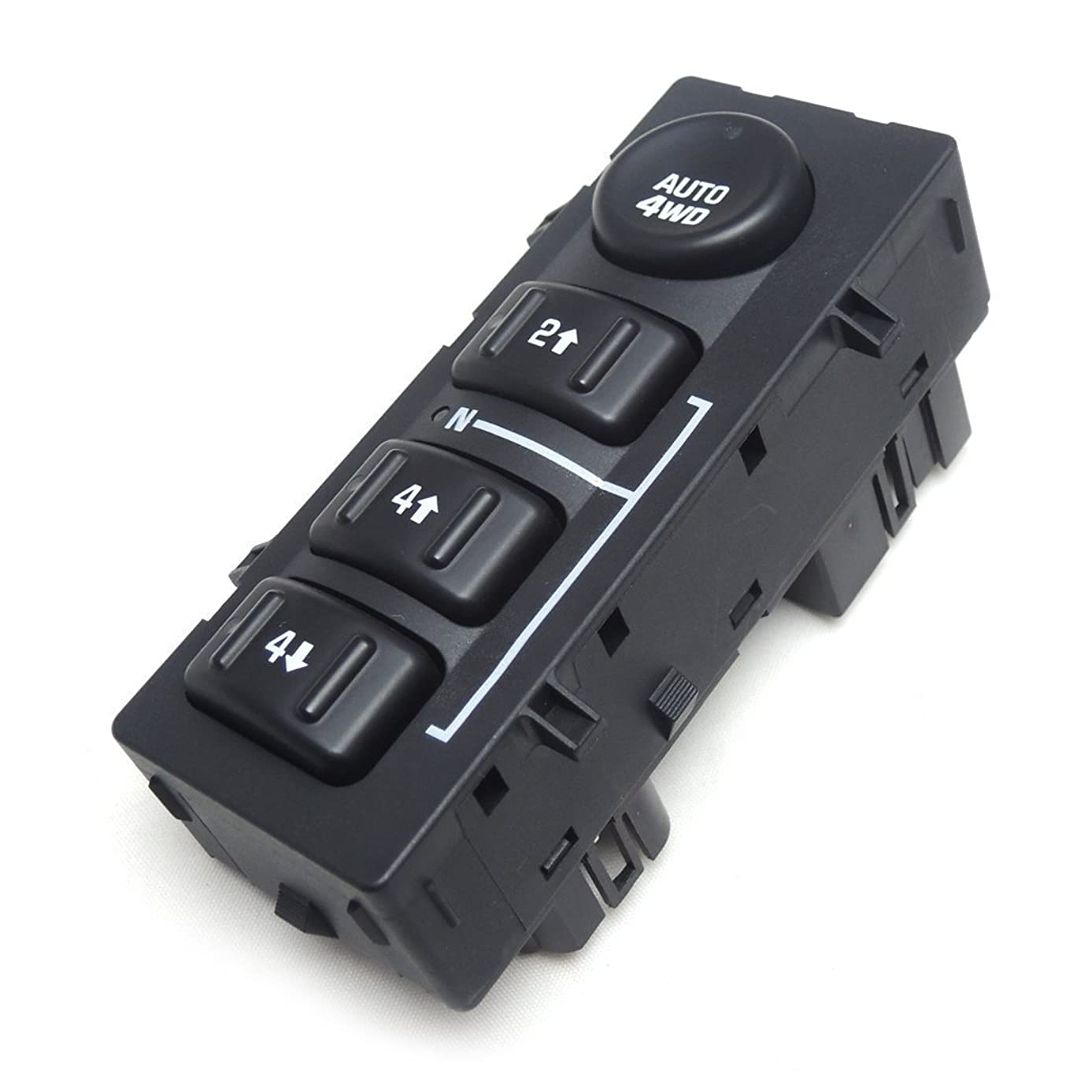4WD 4x4 Wheel Drive Switch Transfer Case Selector Dash Switch for 03-06 Silverado Pickup Truck SUV