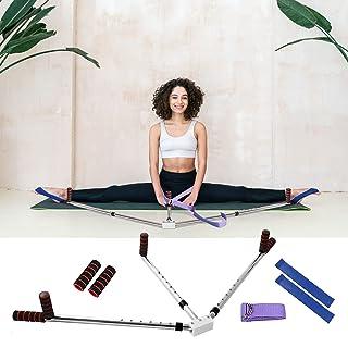 NIUPSKY 3 stänger bensträckare balett benförlängning maskin flexibilitet utbildning delad ben ligament stretcher ben sprid...