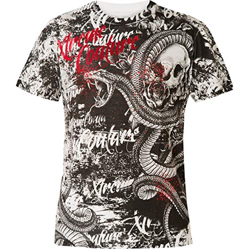 Xtreme Couture by Affliction T-Shirt Blacktooth Grin Weiß, XL