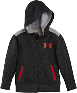 Under Armour Under Armour Boys 'Pre-School UA Swag sudadera con capucha y cremallera 4 Asphalt Heather