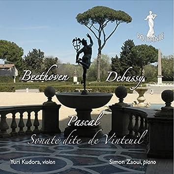 Beethoven, Debussy, Pascal: Sonates