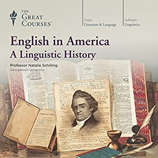 English in America: A Linguistic History audiobook cover art