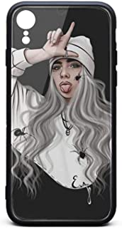 iPhone XR Case Ultra Slim Case Billie-Eilish- Shock-Absorption Bumper Cover Phone Cover Case Compatible with iPhone XR 6.1inch