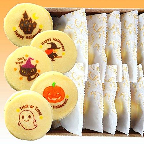 ハロウィン お菓子 もっちり白い どら焼き 10個 化粧箱入り 個包装 白どら 和菓子 プレゼント スイーツ
