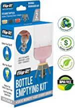 Flip-It FL4X2HBB Bottle Emptying Kit for Bath and Beauty, 2-Pack