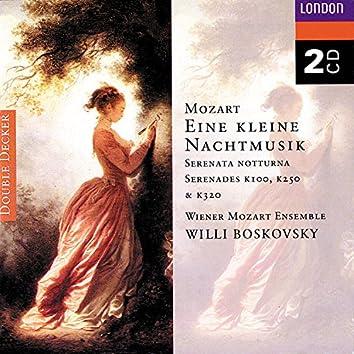 Mozart: Eine Kleine Nachtmusik; Serenata Notturna etc.
