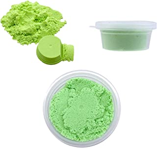 Diy Soft Non-Sticky Colorful Cotton Sand Pinch Mud Educational Toy Kids Gift 80g 60ml Canned Diy Color Sand Super Light Clay Children'S Toy Green