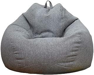 ビーズクッション 座布団 ソファー 豆袋 人をダメにするソファ なまけ者ソファー 90*110cm 伸縮 軽量 腰痛 低反発 着替え袋付き 取り外し可能