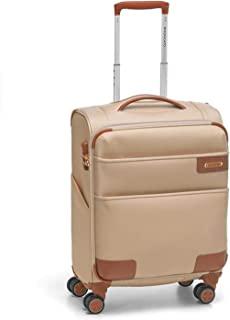 Roncato Italia | Uno Soft Deluxe Collection | Cabin-size | Suitcase | Luggage | Trolley | Travel Bag | Champagne Color