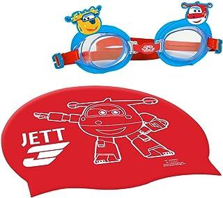 comprar comparacion Super Wings Gorro y gafas natación infantil (Colorbaby 77018)