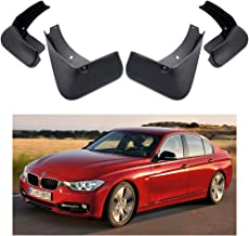 MOERTIFEI Car Mudguard Fender Mud Flaps Splash Guard Kit fit for BMW 3-Series Sedan 2012-2018 F30
