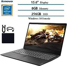 "$369 » 2019 Newest Lenovo 15.6"" Laptop Computer, Intel Pentium Gold 5405U, 2.3GHz, 8GB DDR4 RAM, 256GB SSD, WiFi, Bluetooth, USB 3.1, HDMI, Windows 10 w/ Hesvap Accessories"