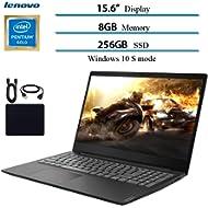"2019 Newest Lenovo 15.6"" Laptop Computer, Intel Pentium Gold 5405U, 2.3GHz, 8GB DDR4 RAM, 256GB..."