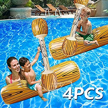 4-Pieces Yugdruzy Pool Fighting Floats
