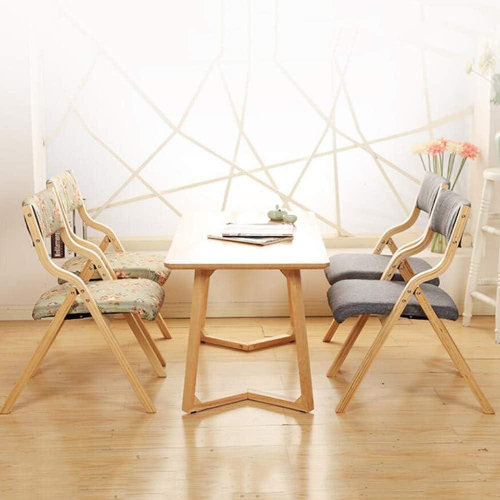 XIAOMEI Moderne Bois Chaise Pliante,Simple Chaise du Directeur Chaises de Salle à Manger Chaise de Bureau Nordique Loisir Tabouret Terrasse Office Jardin Terrasses-I1 I2
