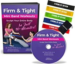 Critical Bench Firm and Tight Mini Band Workouts - DVD and Set of 5 Resistance Bands