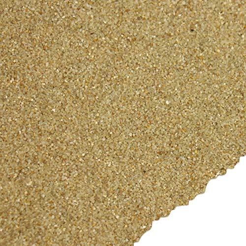 trendmarkt24 Farbsand Creme 1000g | 1kg entspricht ca. 550 cm³ | Deko Sand beige für Bastelideen | Tischdeko | Tischdekoration zum Befüllen von Glasgefäßen Vasen Teelichthalter 9102102