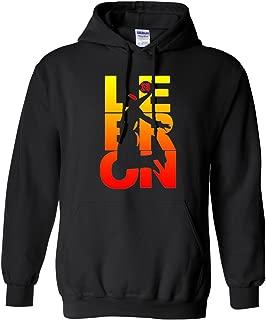 City Shirts New Lebron Fan Wear Cleveland 23 Los Angles Multicolor LA DT Sweatshirt Hoodie