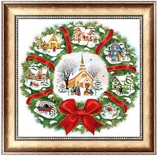 punto de cruz Fogun Car Design 5D Diamond decoraci/ón del hogar Pintura bordada para manualidades