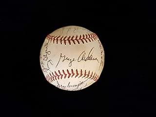 1971 Cincinnati Reds Team Signed Baseball - 25 Autographs - Autographed Baseballs
