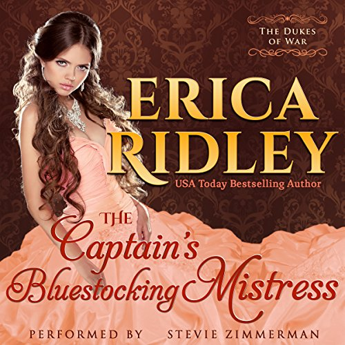 The Captain's Bluestocking Mistress cover art