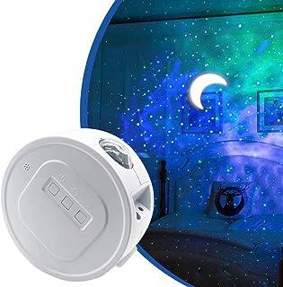 EqiEch Star Projector, Starry Sky Projector,3 in 1 Ocean Wave Laser Projector w/LED Nebula Cloud& Moon, Galaxy Timer Night...